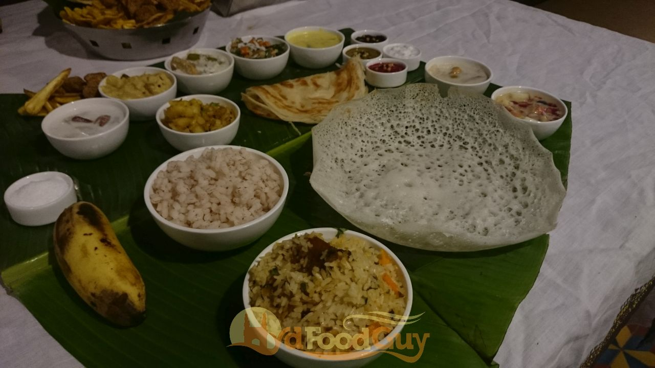 Onyumm kerala food festival at madras cafe for Cuisine of kerala