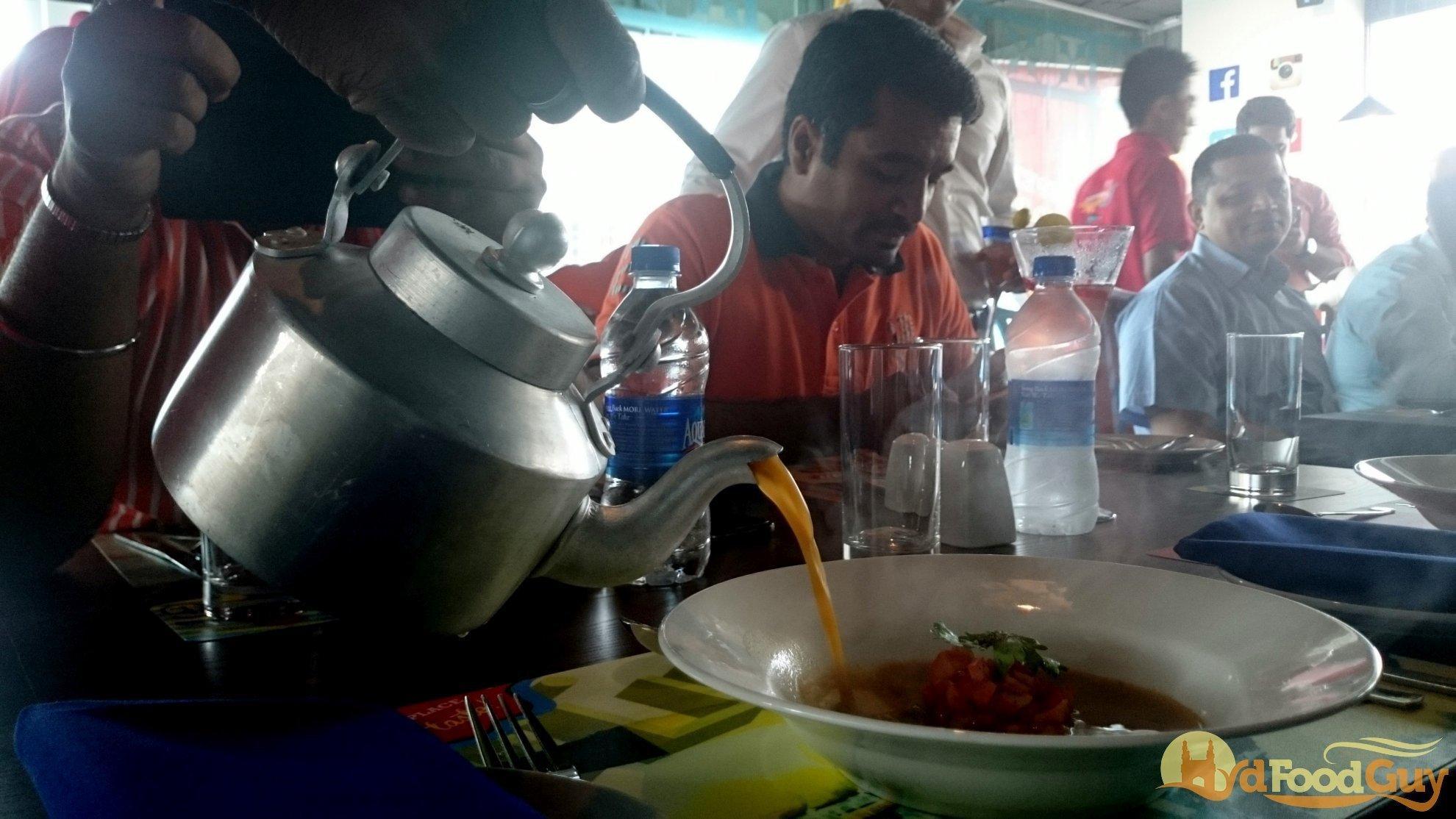 Madras Cafe - Rasam Soup