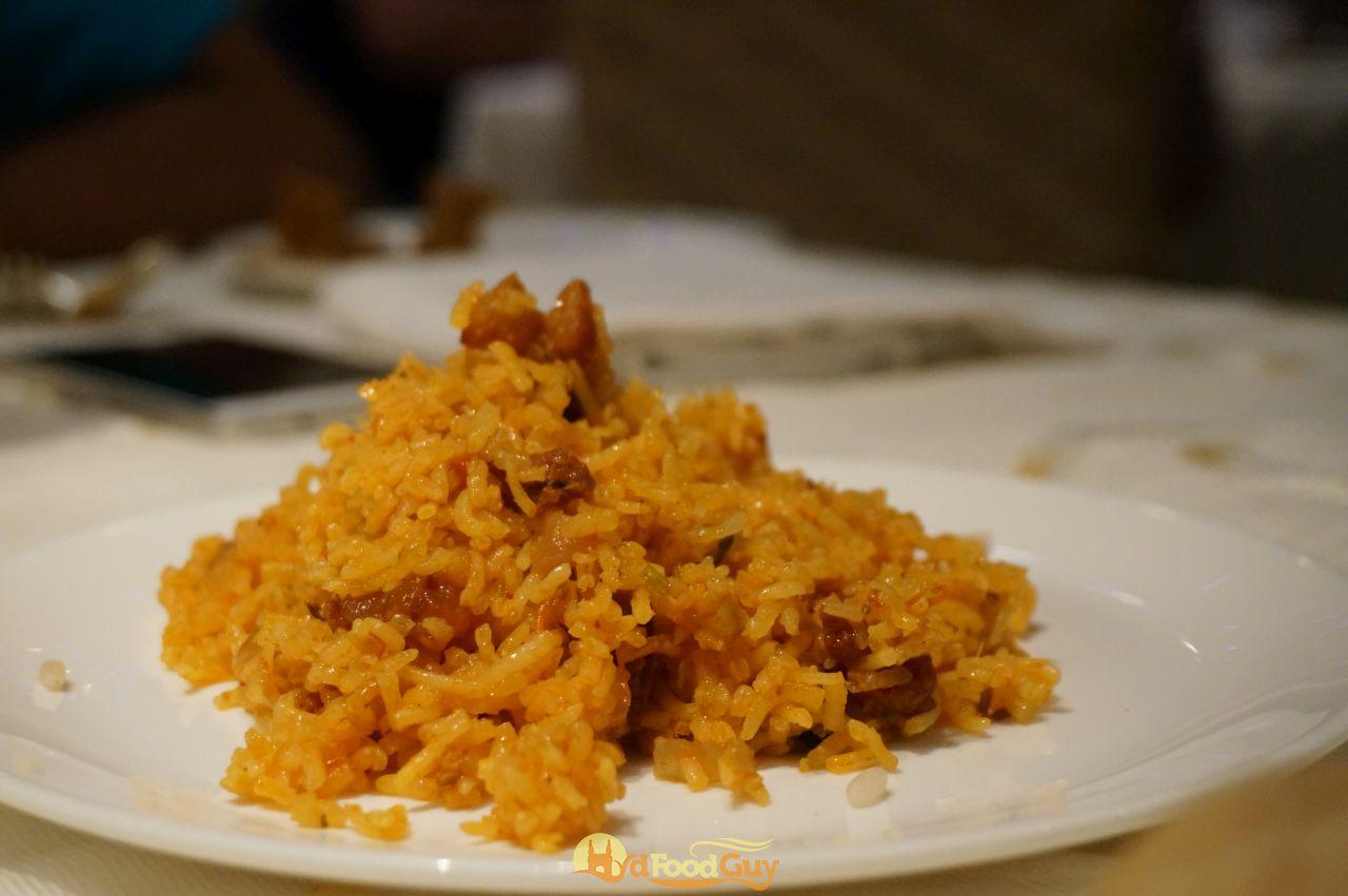 Aish - Pork Sausage Pulao