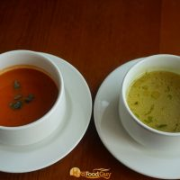 Oakleaf - Tomato Basil Soup and Murgh Shorba
