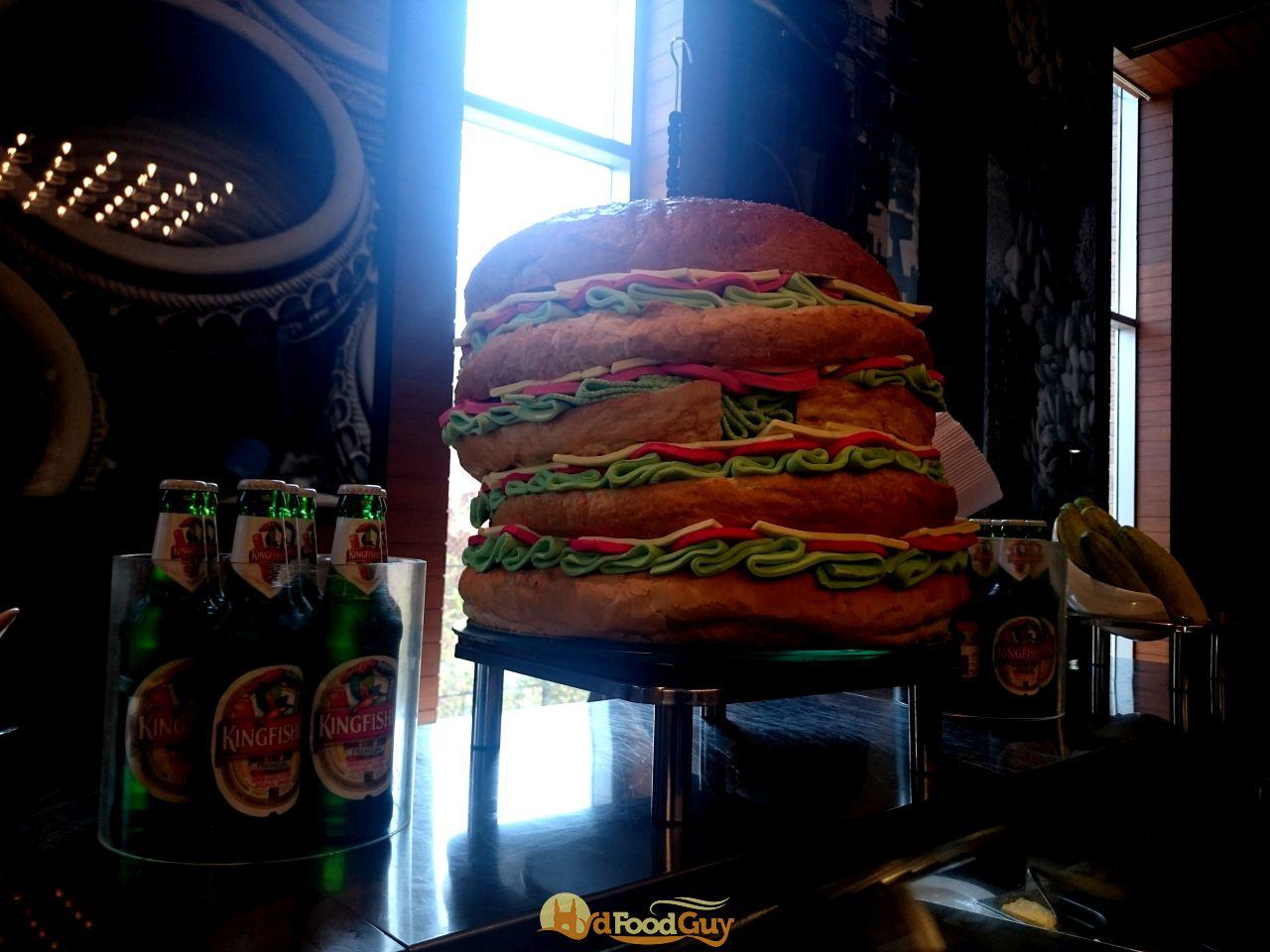 Sheraton - Burger Display